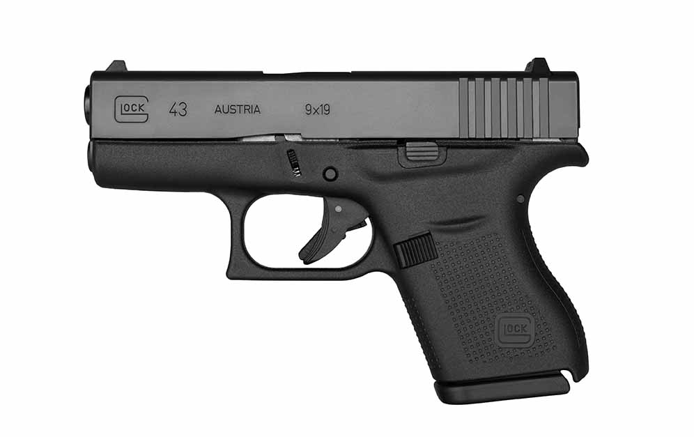 Glock G43 9mm Black|G43