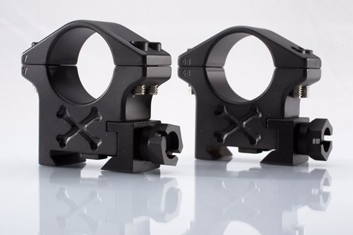 "Talley Picatinny Ring 1"" Tactical Ring (Black Armor) (Med)