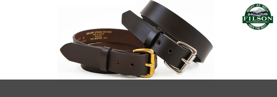 Filson Belts And Suspenders