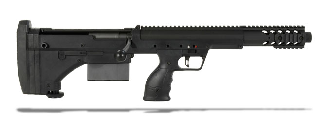 Desert Tech SRS A1 Covert .308 Win. Black Rifle
