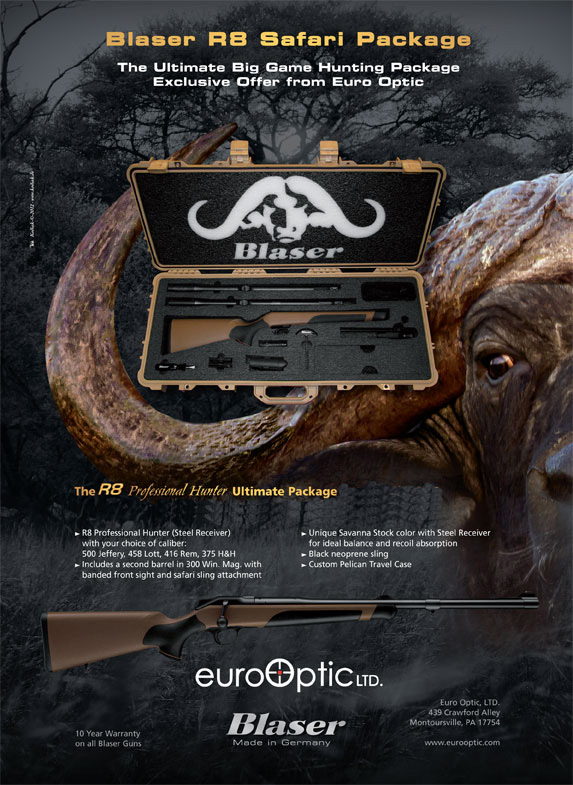 Blaser R8 Ultimate Safari Package