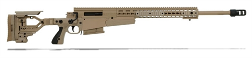 Accuracy International AXMC 300 Pale Brown chassis 24 inch barrel TAC brake|