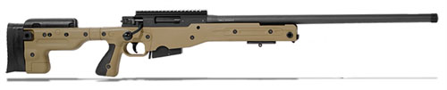 Accuracy International AT Rifle - Fixed Dark Earth Stock - 308 Win 24 inch plain bbl -|AT-308WNFIDE24PL0M