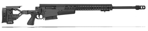 Accuracy International AXMC 308 Black chassis 26 inch barrel Tac brake|