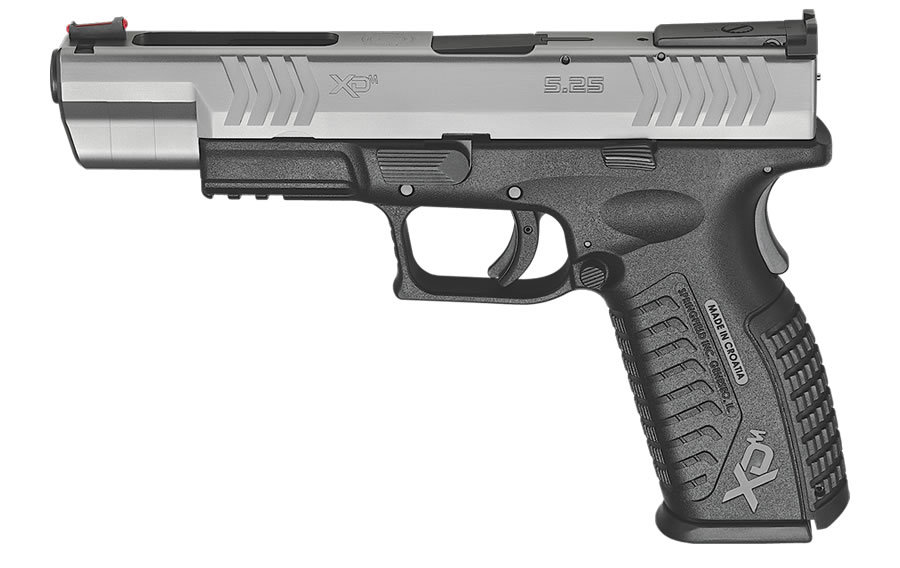 HS XDM 5.25 9mm Pistol Stainless Steel.|HS XDM 5.25 9mm SS