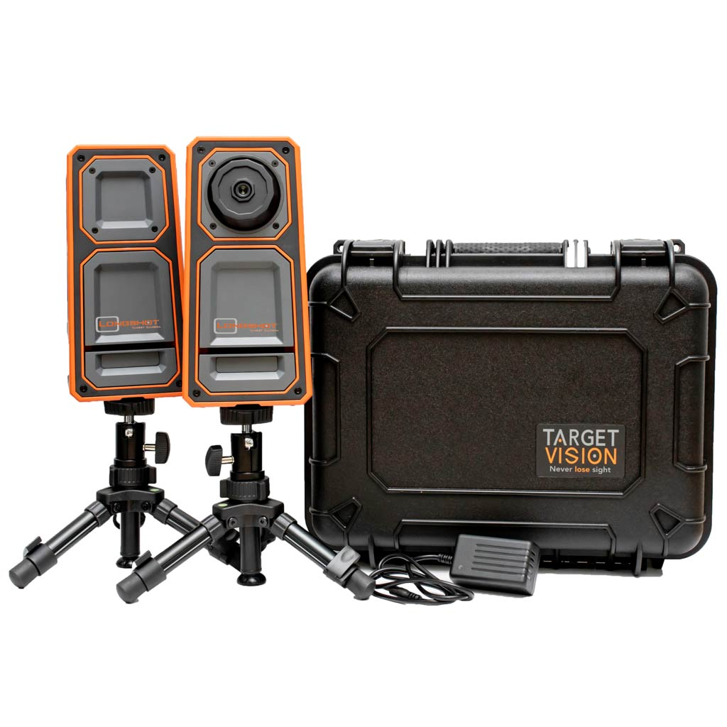 Target Vision LR-3 Camera system. Inc Camera, Receiver, hard case, 2 Tripods, charger with Bulletproof warranty|TV-CF103-W