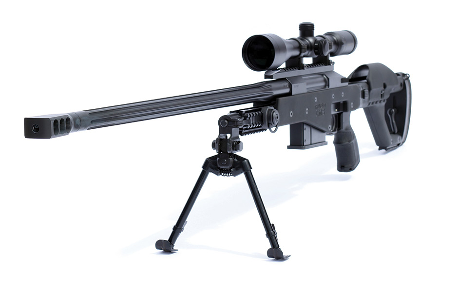 Truvelo CMS.338LM Dark earth + 2 Mags, bipod, cleaning kit.|