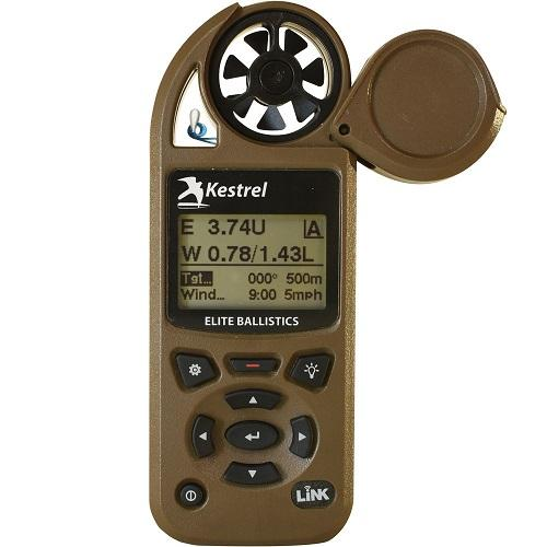 Kestrel Elite 5700 Bluetooth Shooters Weather Meter with Applied Ballistics Calculator Flat Dark earth Link|0857ALFDE