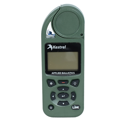 Kestrel Elite 5700 Bluetooth Shooters Weather Meter with Applied Ballistics Calculator Olive Drab Link|0857ALOLV