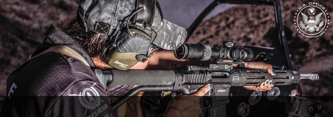 US Optics SR-8 Riflescopes