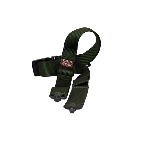 Desert Tactical Arms Tab Sling Flush Cup Swivels OD Green