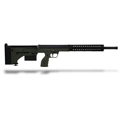 DTA SRS Rifle 300 Win 26 Inch Barrel Black Receiver OD Green Stock
