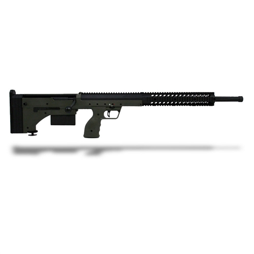 DTA SRS Rifle 243 Win 26 Inch Barrel Black Receiver OD Green Stock