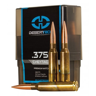 Desert Tech 375 Cheytac 352gr PTS Match DTM-375CT-PTS