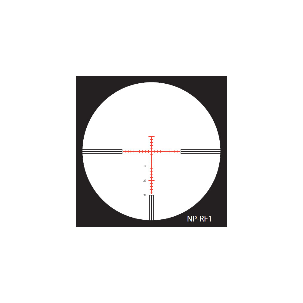 Nightforce NP-RF1 Reticle