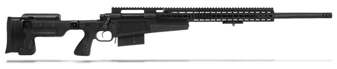 Remington 700P MLR 338 Lapua Black Rifle